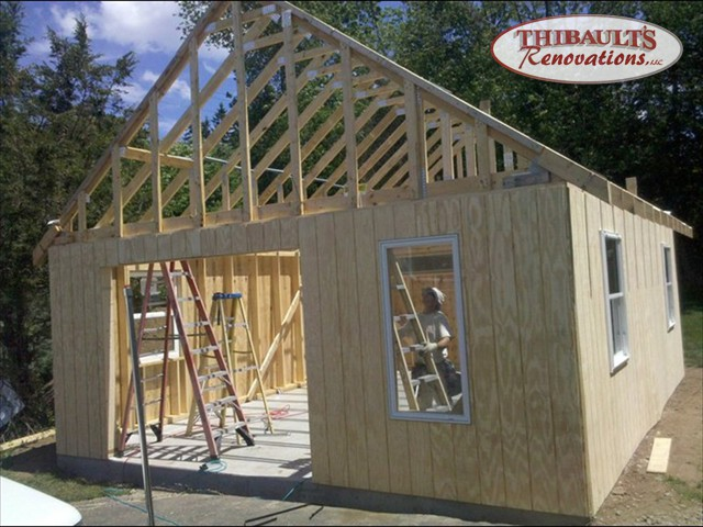 Thibault 39 S Renovations Llc Garage Construction In
