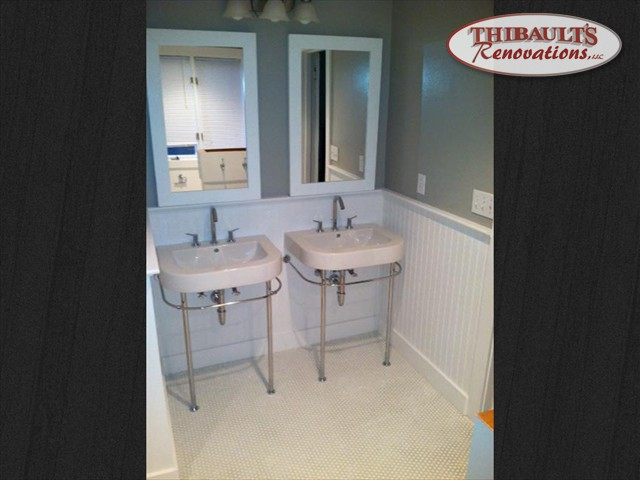Thibault 39 s renovations llc bathroom remodeling in for Bath remodel nh